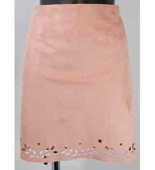 91022646cd BNWOT Primark Faux Suede Skirt - Pink - Size 18 Primark - Size: 18 -