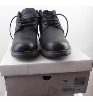888729c9c Mantaray Plain black boots with laces - Size: 9 - Black - Work boots