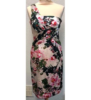 0b2472e96278 BNWT Monsoon Originals Size 8 Cream & Pink/Green Floral with Diamante  and Sequinned