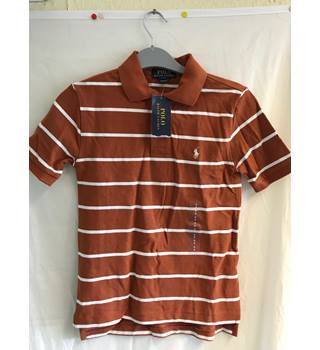 b09c91aa87 Ralph Lauren Polo Boys T-Shirt New with Tags Ralph Lauren - Size: 6