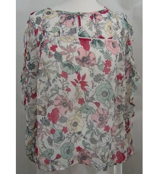 878acdd74f1 Per Una - Size: 16 - Multi-coloured - Floral Smock top
