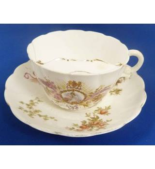 Commemorative Queen Victoria Diamond Jubilee Moustache Tea Cup And Saucer  1837-1897 | Oxfam GB | Oxfam's Online Shop