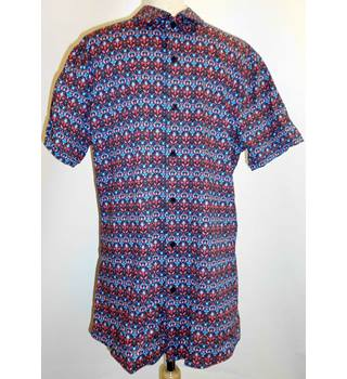 df24c1eb Tribal Print Shirt Topman - Size: M - Multi-coloured - Short sleeved