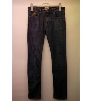 bb96b7cb48 Vintage Men's Superdry Straight-Leg Denim Jeans: Size 32 waist
