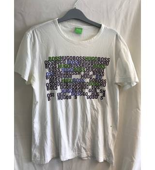 ead4fb1f8 Hugo Boss Men's T shirt Size Small Hugo Boss - Size: S - White -