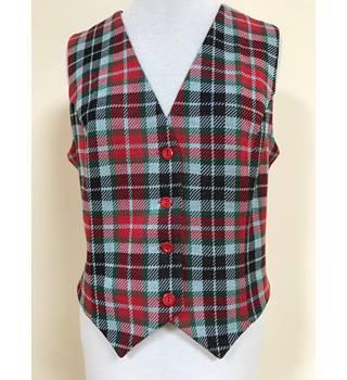 d7e6d13f699 Unique vintage tartan waistcoat Prova vintage BHS - Size: 14 - Red -  Waistcoat