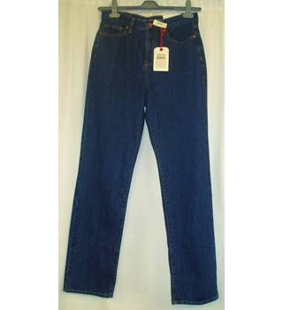 c903aebfe BNWT Lands End Size 10 Indigo blue straight leg Jeans