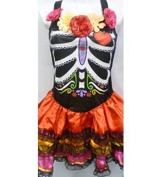 666324548c0c Christys Dress Up - Size: L - Multi-coloured -Day of the Dead