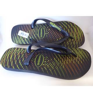 c5c336014d Haviaianas-Size7.5-Black multi- Flip flop shoes-BNWT Havaianas -
