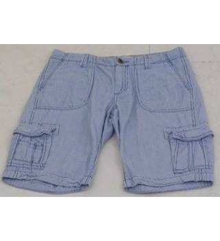 10e290ad Fat Face Size 10 Blue Light Weight Cargo Shorts