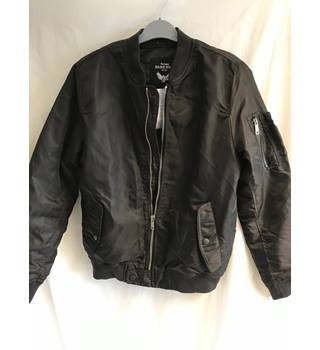 5617eff7 BNWT Brave Soul Dark Brown Jacket Size Small Brave Soul - Size: S - Brown