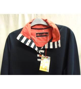 44fa55a3f Alice Collins Black Red Striped Top size 14 Alice Collins - Size  14 -