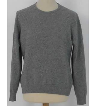 ae3dbb4d4325f Marks & Spencer Autograph Size L Light Grey Mix Pure Cashmere Jumper