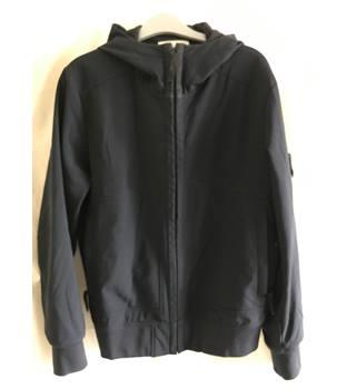 af9117e026342 Stone Island Navy Soft Shell - R Jacket - Size M Stone Island - Size: