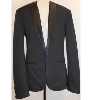 56c792de Blazer Zara Man - Size: M - Black - Single breasted blazer