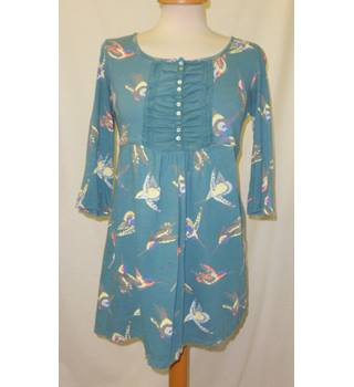 44239935d5ed3 White Stuff - Size: 12 - Turquoise blue - Smock top