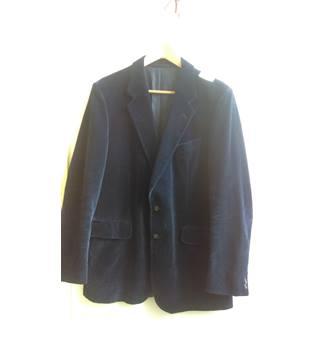7c2f051ec Blue velvet jacket - Size medium Leonard Neasham - Blue - Jacket