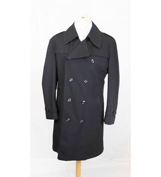 6705644630b23 Allander House of Frases - Size: M - Black - VINTAGE Trench Coat