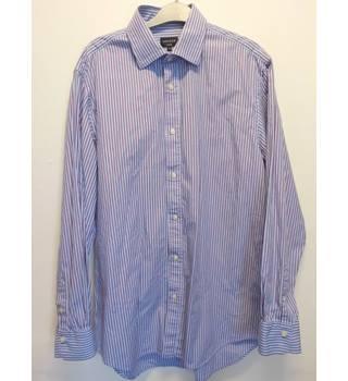 ecf94722 ... slim fit Long sleeved shirt · £19.99 · Jaeger - Size: M -  Multi-coloured - Long sleeved