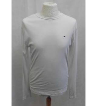 5f8073d596d0ef Tommy Hilfiger - Size: M - White - Long sleeved T-shirt