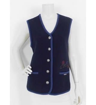 a51b0f00e0 Vintage 80's Geiger Size:14 Blue Waistcoat