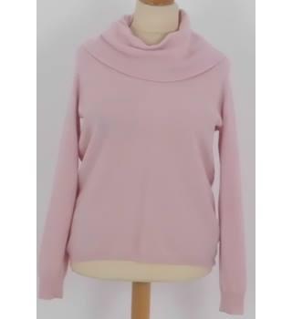 351334f7e194 M&S Marks & Spencer Size: 16 Pink 100% Cashmere Jumper