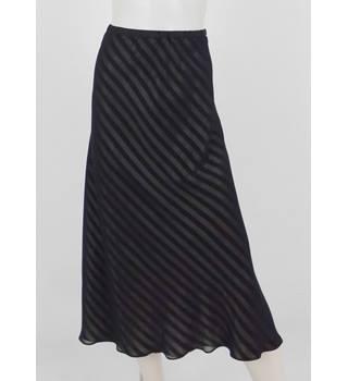 ddc9665fdd Jacques Vert Size: 16 Black & Gold Striped Evening Skirt