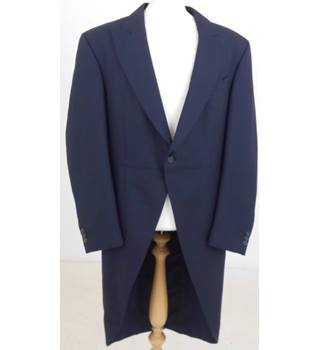 """4c229cfd1ff Young's size: chest: 42"""" navy blue tail coat jacket"""