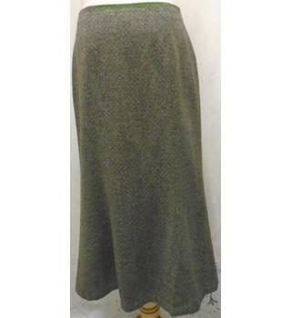7597d93f5 Straight basket weave brown skirt Hobbs - Size: 14 - Brown - Long skirt