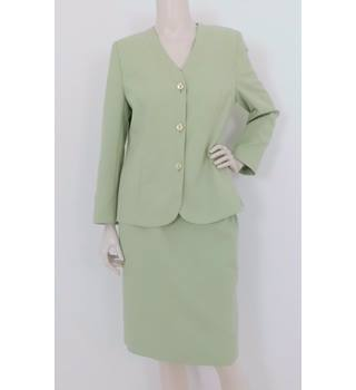 70835b052 Vintage 90's Eastex Size:10 Green Skirt Suit