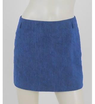 c4ec74dd8 Coast Size: 10 Air Force Blue Crinkled Mini Skirt