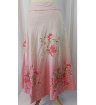 79d5d89318 Monsoon women's skirt Monsoon - Size: 16 - Pink - Long skirt