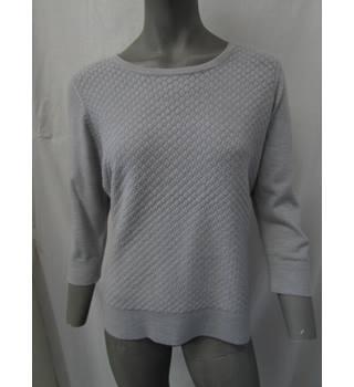 2761f68005b9 Per Una - Size: 14 - Light grey - Long sleeved jumper