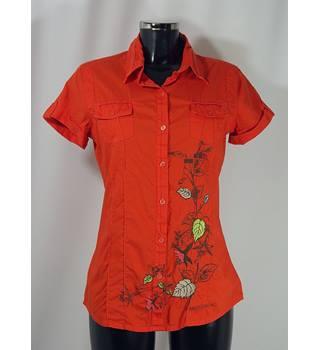76adbc33 Americanino Shirt - Orange - Size L (Size 12) Americanino - Size: 12