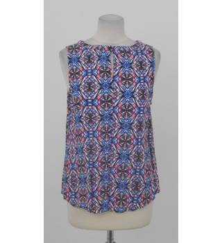 53df35ec0 New Look Size 14 Pink,blue and black sleeveless top