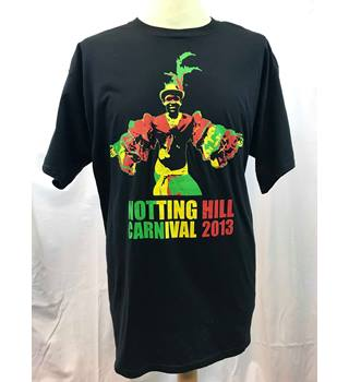 a61c0e5a006f Notting Hill Carnival Vintage 2013 Tshirt - XL Unbranded - Size: XL - Black  -