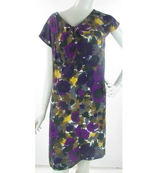 64b336f4e590 Boden - Size: 14 - Multi-coloured - Knee length Shift Dress