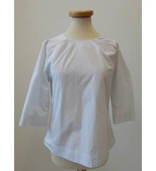 b8b65b22e848 Kew Polka Dot Shirt - Size 10 Kew - Size: 10 - White
