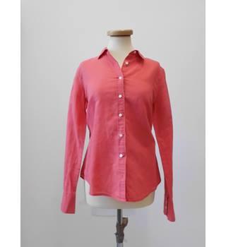 dfaf98cc42d8 J CRew Linen Shirt - Size 10 J Crew - Size: 10 - Pink -