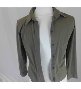 1db22e3ab387 Calvin Klein buttoned mens jacket Calvin Klein - Size: M - Green - Jacket