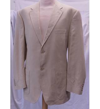 7c46cc460268 M&S Marks & Spencer - Size: 42M - Sand - Jacket