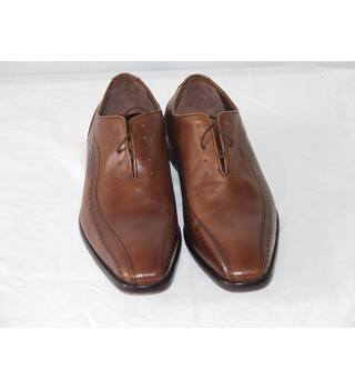 8f324b7be MEN'S GUESS WHAT LABEL SAYS LEATHER SHOES SIZE 9 GUESS WHAT LABEL SAYS -  Size: