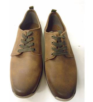 43cc1903b598f M&S Casual Brown Lace-up Shoes, Standard Fit, Size 7 M&