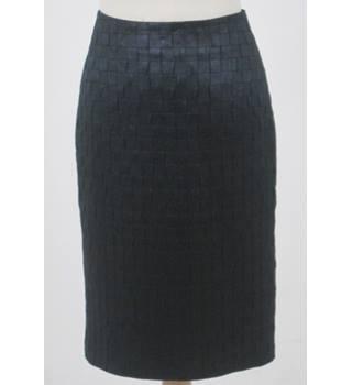 72cdb25faf7135 Adolfo Dominguez Size: 12 Black Knee length skirt