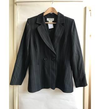 eeb98d002e9 Black stripped Yves Saint Laurent jacket - SIZE 16 Yves Saint Laurent -  Size: L