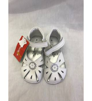 cozy fresh popular stores newest Walkmates White Sandals M&S Marks & Spencer - Size: 8 - White ...