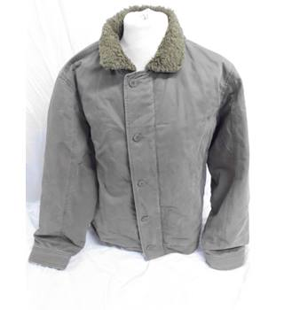 b61d584ef38 M&S Taupe Bomber Jacket. Size M. M&S Marks &