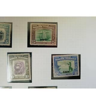 North Borneo - set of 15 stamps