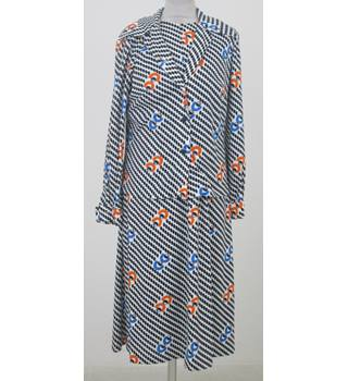 24c84bfbf Vintage 60s Clive Byrne size:18 black & white dress ...