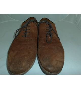 6deacaeb6ef9a Aldo Men's brown suede leather shoes size 10 (44) Aldo - Size: 10